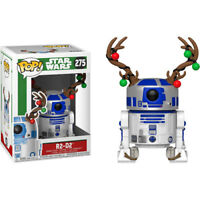 Star Wars - R2-D2 with Christmas Antlers Pop! Vinyl Figure NEW Funko R2D2 xmas