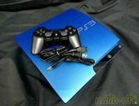 SONY PlayStation 3 PS3 Console System Japan 320GB Splash Blue CECH-3000BSB 100V