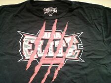 Mens MMA Elite T Shirt Black Short Sleeve T Shirt XXL