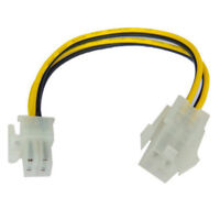 4 Pin P4 ATX Male to Female Extension Cable Card CPU Motherboard Power Adapter