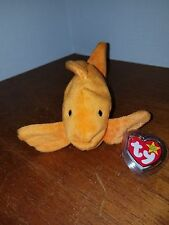 Ty Beanie Baby Goldie the Goldfish RARE with PVC Pellets with 6 Errors!!