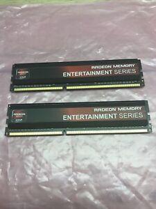 AMD RADEON MEMORY 8GB kit 2x 4GB DDR3 1866MHZ DIMM GAMING RAM CL9