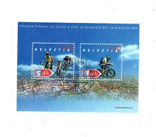 Switzerland SCOTT# 1179 Cycling FDC Cancelled Helvetia Swiss MNH Souvenir Sheet