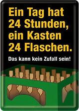 Nostalgic Art Ein Tag hat 24 ORE - Ein Kasten BIRRA 24 Bottiglie No casuale #