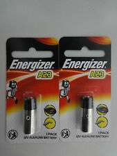 2 Energizer A23 23A 23AE 21/23 GP23A 23GA MN21 A23BP 12V Battery Sealed Pack