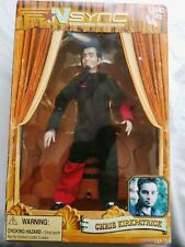 Nsync Collectible Marionette Chris Kirkpatrick By Living Toyz Doll Never Opened