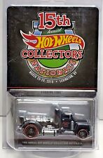 Hot Wheels 15th Nationals Convention 2015 Dinner Car - Turbine Time #d 1392/1500