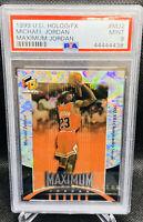 1999-00 Michael Jordan Upper Deck HoloGrFX #MJ2 Maximum Jordan PSA 9 Mint POP 8