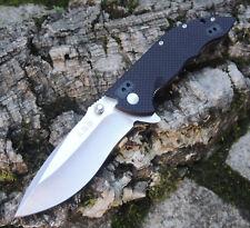 Sanrenmu 9054 GH EDC BLACK Messer Slipjoint Folder 12C27 Stahl G10 Griff Folder