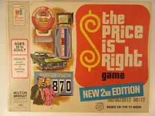 Vintage The Price Is Right Board Game 2nd Edition Milton Bradley 1974 Pre-owned