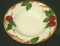 """Franciscan """"Apple"""" Pattern 8 1/2"""" RIM SOUP BOWL Made in California 1949-1953"""
