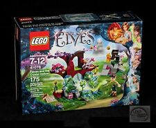 LEGO Elves - Farran & The Crystal Hollow - 41076 - (Tree, House, Ladder, Acorn)