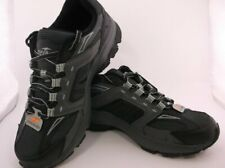 15989b2410 AVIA JAG MENS SZ 7.5W BLACK LEATHER AND MESH ATHLETIC TRAIL SHOE SNEAKER NWT