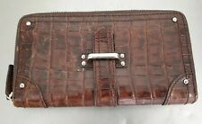 Saddler Leather Zip Around Purse