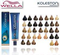 WELLA KOLESTON PERFECT PERMANENT HAIR COLOUR NEW BOXED