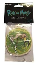 Rick and Morty Portal Design New Car Scent Air Freshener Car Truck Office