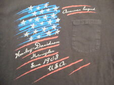 Harley Davidson Motorcycles American Legend California Pen Pocket T Shirt Size M