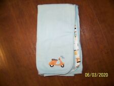 New listing Gymboree When In Rome Scooter Coliseum beep beep Blanket