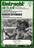 BL 83/84 Eintracht Braunschweig - Kickers Offenbach, 03.12.1983, Tripbacher