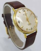VINTAGE ROTARY GOLD PLATED CHAMPANGE DIAL AUTOMATIC MAN'S WATCH
