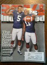 December 30, 2013 Sports Illustrated ~ AUBURN FOOTBALL, Megatron Calvin Johnson