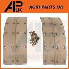 NEW Fordson Dexta Super Dexta Brake Drum Lining Kit with Rivets Ford Tractor
