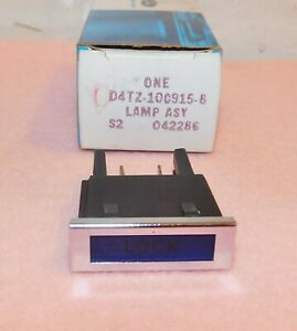 1974-1979 Ford F100 F150 F250 4/W/D with C6 Truck NOS DASH 'LOCK' WARNING LAMP