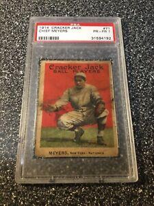 1914 Cracker Jack #71 Chief Meyers | PSA 1 PR-FR | ARN499015ER