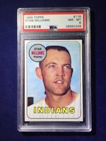 1969 Topps Stan Williams #118 PSA 8 Cleveland Indians