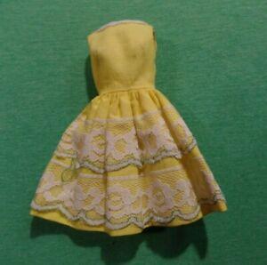 Vintage Barbie Clothes - Vintage Francie Doll 1254 Fresh as a Daisy Dress