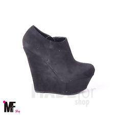scarpe donna tronchetto stivaletto francesine ZEPPA 13 scamosciate GZ876-25