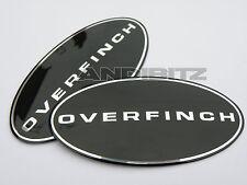 LAND ROVER DISCO DISCOVERY 3 ORIGINALE overfinch MASCHERINA & POSTERIORE NERO
