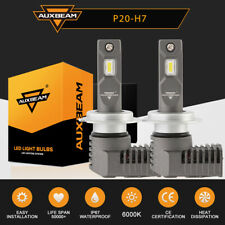 AUXBEAM H7 CREE LED Headlight Kit 50W 6500K 5000LM Replacement Bulbs High Low