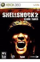 Shellshock 2: Blood Trails XBOX 360 Game Vietnam War Rare Military Collectible