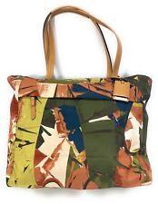 "Tumi Large M-Tote Business Bag Fits 15"" Laptop Banana Leaf Print"
