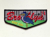 SHUSHUGA OA LODGE 24 SCOUT SERVICE PATCH FLAP 1994 NOAC DELEGATE BROOKLYN MINT