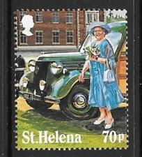 ST.HELENA SG458 1985 70p LIFE & TIMES OF QUEEN MOTHER FROM M/SHEET MNH