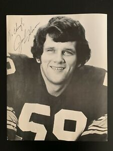 Pittsburgh Steelers Jack Ham Signed Photo NFL