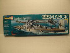 Revell, 1:570 Plastic Model Kit, Battle Ship Bismarck