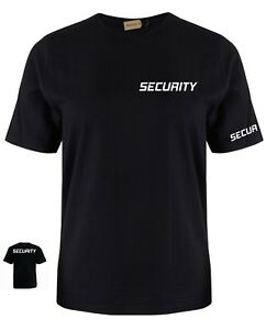Security Staff bouncer Door Man Club T shirt fathers  Birthday Gift Present joke