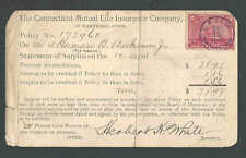 1900 Revenue #R164 Used As Postage W/Special Cancel C M L I Co See Info