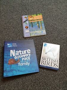 RSPB Giving Nature A Home Nature's Discovery Pack For All The Family.