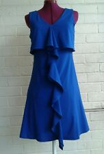 Teabemy royal blue pure waffle Summer Dress Size 8