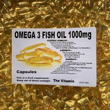 The Vitamine Omega 3 Poisson Huile 1000mg 1000 Capsules Acheter En Gros -