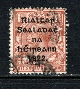 Ireland KGV 1922  1½d Red Brown SG49 Used Cat £14
