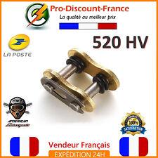 Attache Rapide Chaine 520 HV Standard Moto Dirt Pit Quad Maillon Cross 520HV