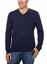 Calvin Klein Men's Classic Fit Solid V-Neck Sweater - Size: Small            J-9