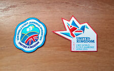 2 Badges: 22nd/23rd World Scout Jamboree 2011/2015 - UK Contingent