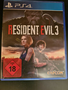 Resident Evil 3 (PlayStation 4, 2020)