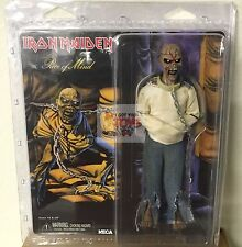 "NECA Iron Maiden EDDIE PIECE OF MIND 8"" Inch 2014 Clothed Retro FIGURE"